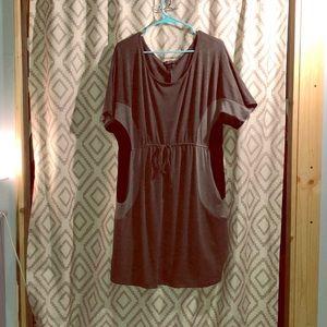 NWOT Delirious - Gray Midi Dress- size 3X